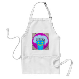Oh my look at the time! standard apron