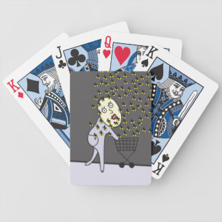 Oh No! Bumble Bees! Playing Cards