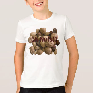 Oh Nuts Kids Ringer T-shirt