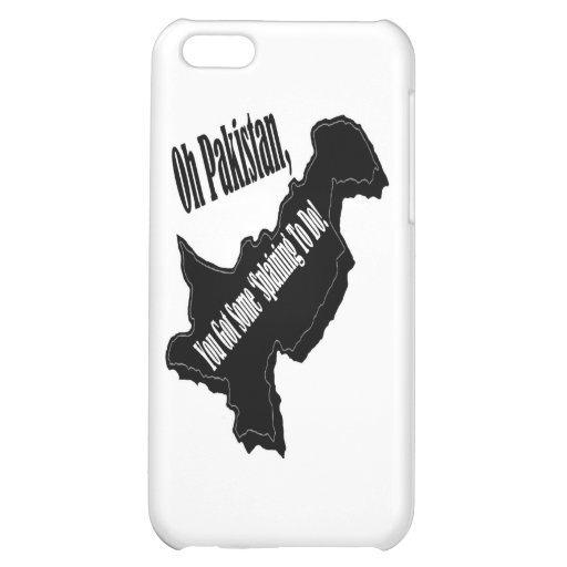 Oh Pakistan Cover For iPhone 5C