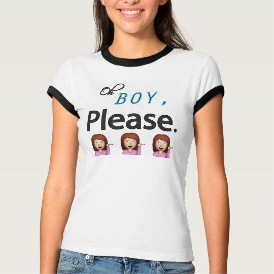 Oh please Emoji T-Shirt