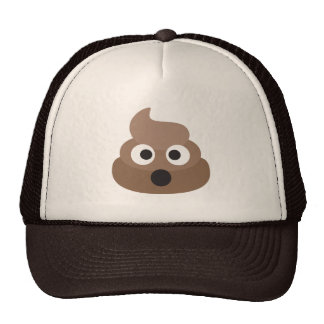 Oh Poo Emoji Trucker Hat