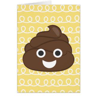 Oh Poop (Emoji) Belated Birthday Card