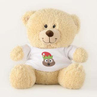 Oh Poop!  Emoji Christmas Teddy Bear