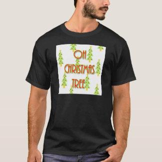 oh rouge vert moderne de la moitié du siècle t-shirt