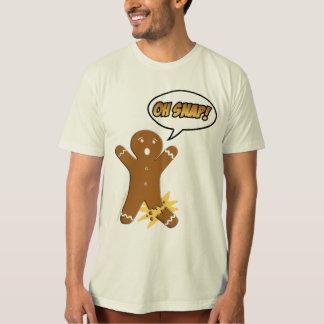 Oh rupture ! Bonhomme en pain d'épice drôle T Shirt