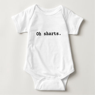 Oh sharts. baby bodysuit