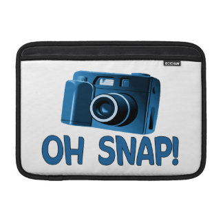 Oh Snap Camera Sleeve For MacBook Air
