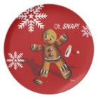 Oh Snap! Cookie Swap Christmas Party | red Plate