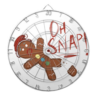 Oh Snap Gingerbread Man Dartboard