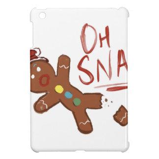 Oh Snap Gingerbread Man iPad Mini Covers