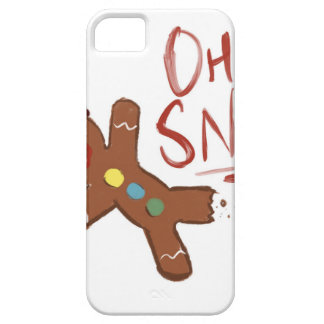 Oh Snap Gingerbread Man iPhone 5 Case