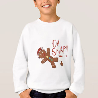 Oh Snap Gingerbread Man Sweatshirt