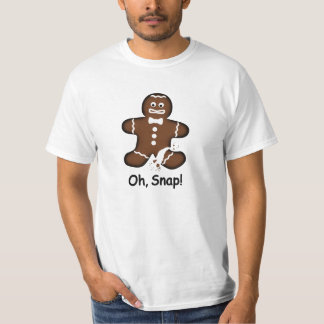 Oh, Snap! Overdone Gingerbread Man T-Shirt
