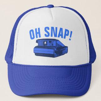 Oh Snap Photo Geek Trucker Hat