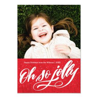 Oh So Jolly | Holiday Card