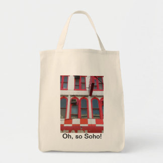 Oh, so Soho! Grocery bag