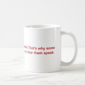 oh so witty light travels... classic white coffee mug