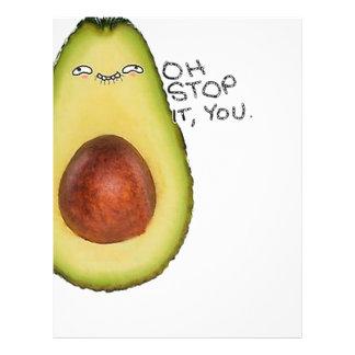 Oh Stop It You - Meme Avocado Letterhead