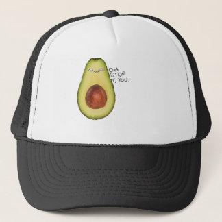 Oh Stop It You - Meme Avocado Trucker Hat