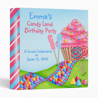 Oh Sweet Candy Land Photo Album BInder
