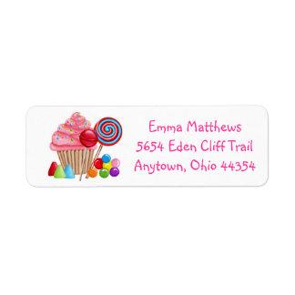 Oh Sweet Candyland  Address Labels