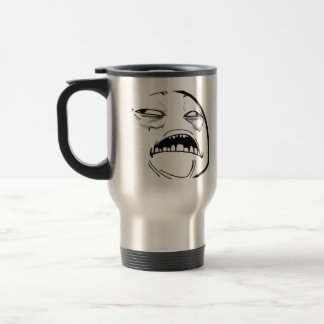 Oh Sweet Jesus Thats Good Rage Face Meme 15 Oz Stainless Steel Travel Mug