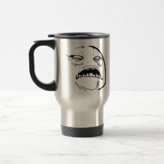 Oh Sweet Jesus Thats Good Rage Face Meme Stainless Steel Travel Mug