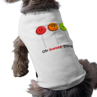 Oh Sweet Thing! - Lollipop Design for Dogs Shirt