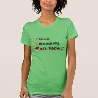 oh t-chemise-conception drôle gentille vilaine de t-shirt