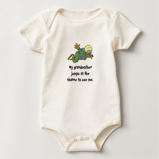 Oh, that's so cute. baby bodysuit