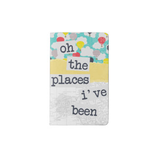 Oh! The Places I've Been Travel Journal Notebook