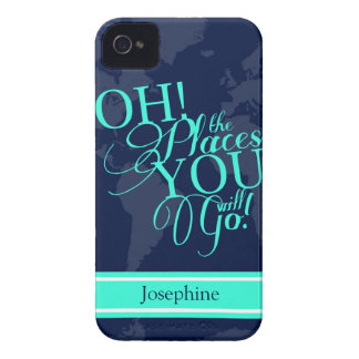 Oh! The places you will go! iPhone 4 Cover