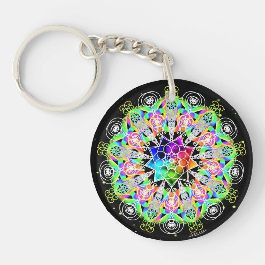Oh, the Possibilities!/Alchemy of Joy Double-Sided Round Acrylic Keychain