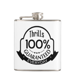 Oh the Thrills! Hip Flask