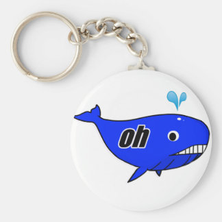 Oh Wale Oh Well Basic Round Button Keychain