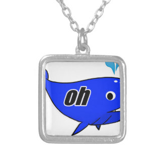 Oh Wale Oh Well Silver Plated Necklace