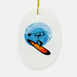 OH WATER DREAMS CERAMIC OVAL ORNAMENT