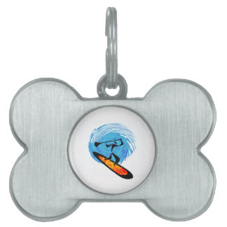 OH WATER DREAMS PET NAME TAG