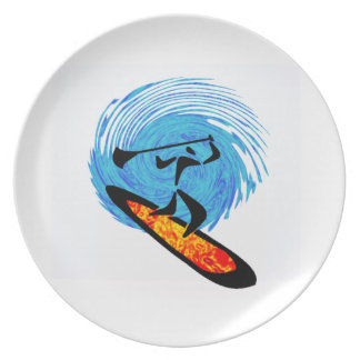 OH WATER DREAMS PLATE
