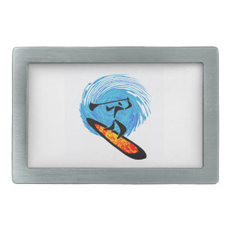 OH WATER DREAMS RECTANGULAR BELT BUCKLE