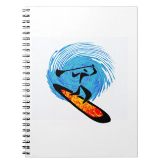 OH WATER DREAMS SPIRAL NOTEBOOK