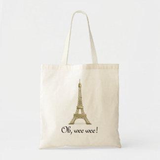 Oh, Wee Wee: Eiffel Tower Tote
