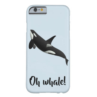 Oh Whale iPhone Case