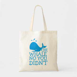 Oh Whale No Tote Bag