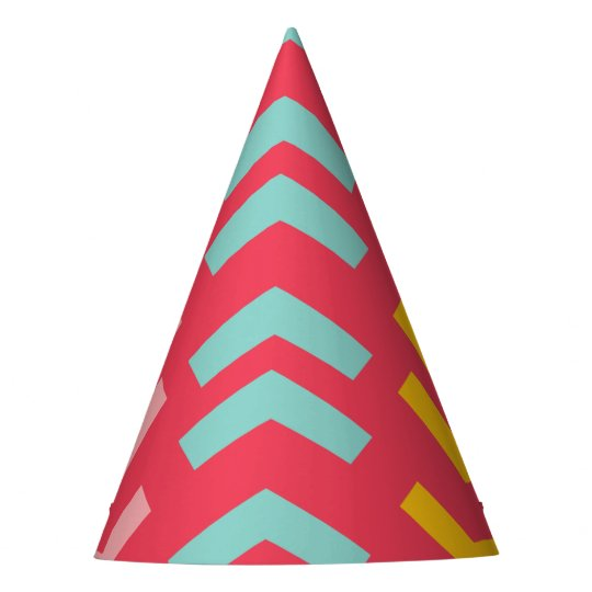 Oh What Fun Bold Arrows Girl Birthday Party Hat