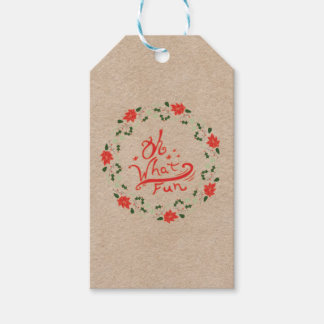 Oh What Fun gift tag Pack Of Gift Tags