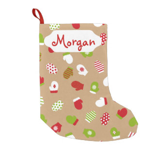 Oh What Fun! Mittens Christmas stocking