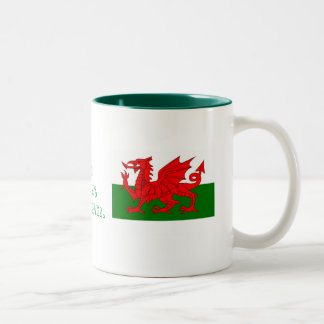 Oh!, Whats Occuring!...welsh flag mug