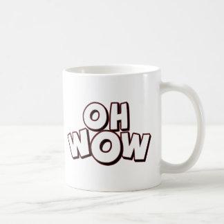 Oh Wow Classic White Coffee Mug